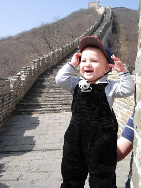 Henry at the Great Wall