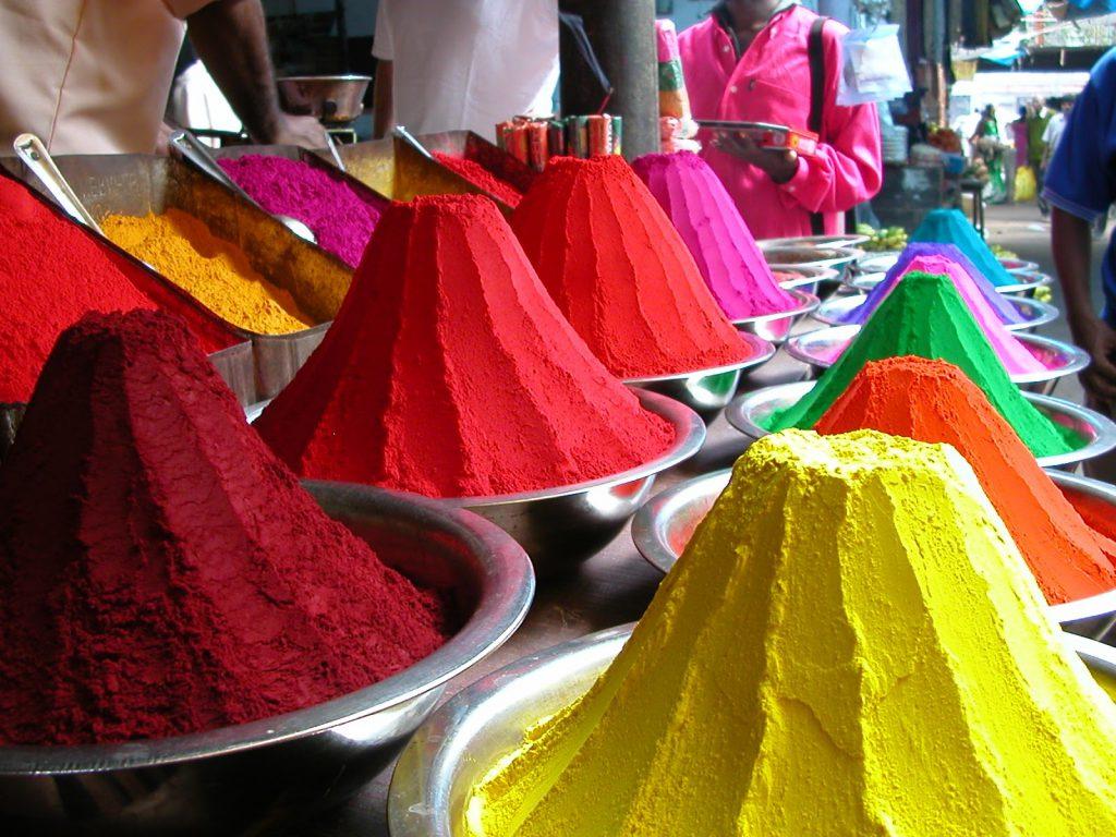 Dye stalls